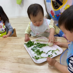 七草粥を食べました(*´▽`*)